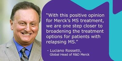 Luciano Rosetti, Global Head of R&D, Merck. (PRNewsfoto/Merck)