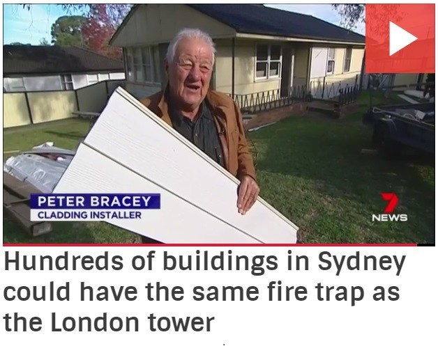 Hundreds of buildings in Sydney could have the same fire trap as the London Tower