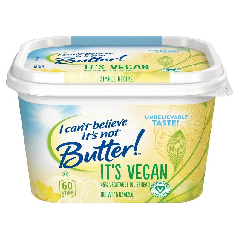 I Can't Believe It's Not Butter!® It's Vegan
