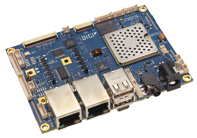 ConnectCore® 6UL SBC Pro.