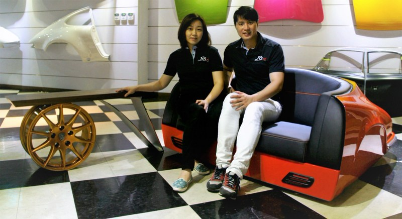 Realsteel Design is owned by Alan and Celena Liu, of Taipei, Taiwan