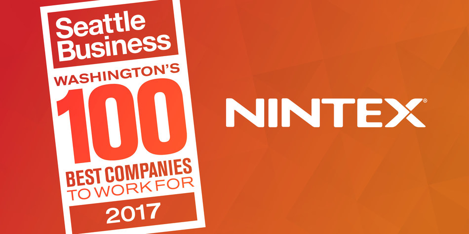 Nintex, the recognized global leader in workflow and content automation (WCA), announced today that it has been named one of the top 10 companies, in the large company category, within Seattle Business Magazine's Annual Washington 100 Best Companies to Work For program.