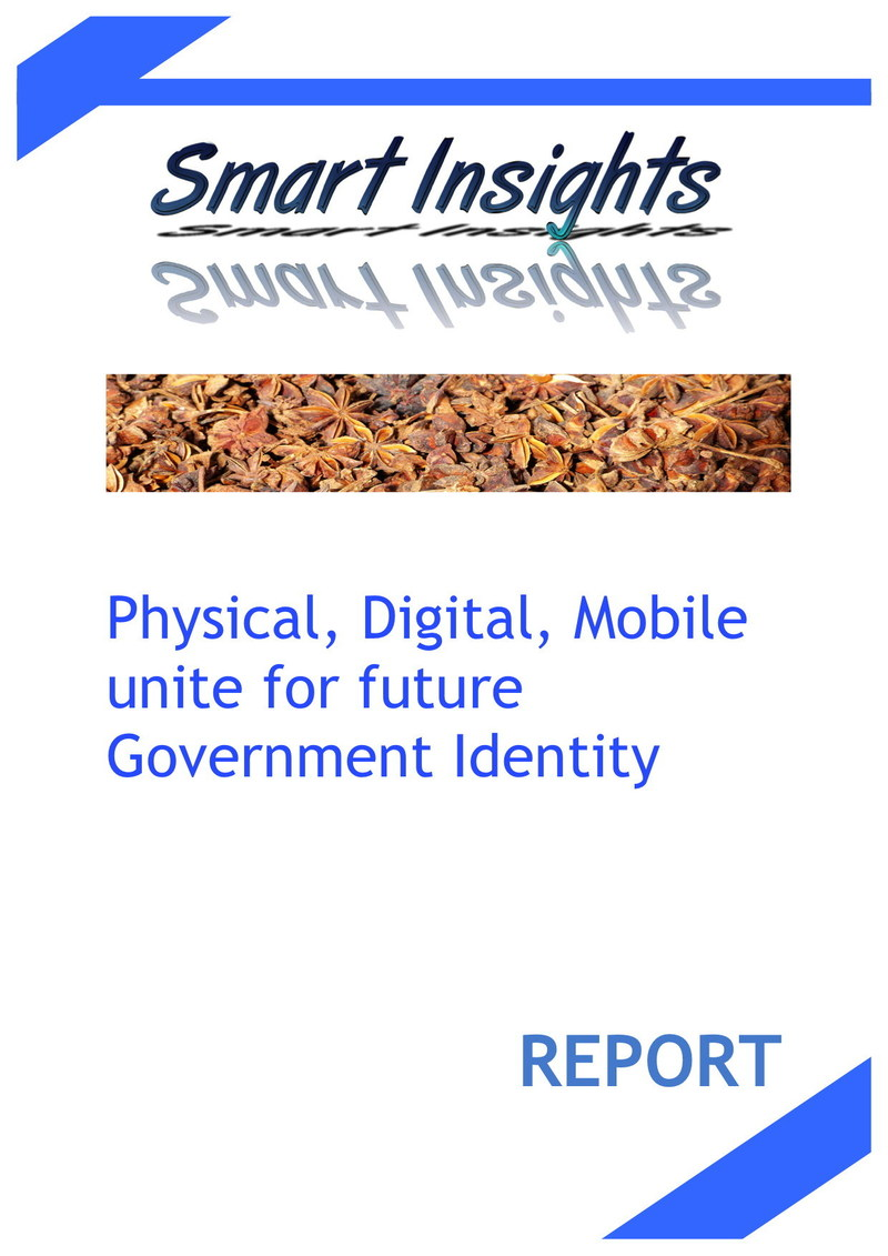 "Smart Insights Report ""Physical, Digital, Mobile unite for future Government Identity"""