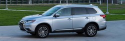 Drivers experience superior control behind the wheel of the 2017 Mitsubishi Outlander ES equipped with 4WD.