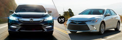 Allan Nott Honda compares 2017 Honda Accord with 2017 Toyota Camry.