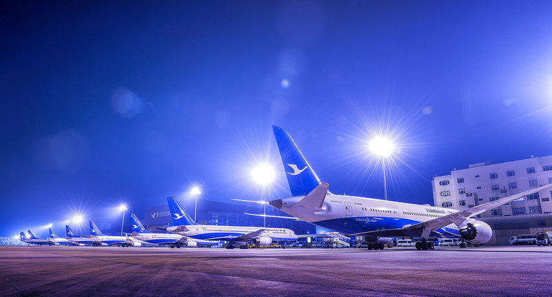 Xiamen Airlines lança voo direto Xiamen-Los Angeles
