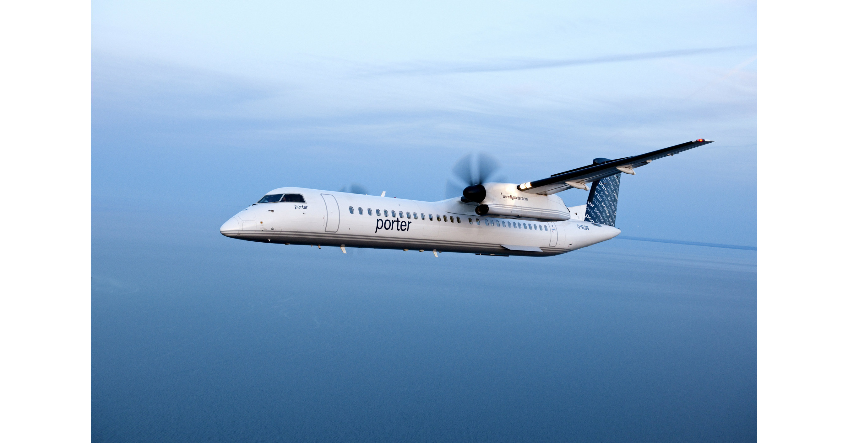 Porter airlines grows atlantic market with new service to for Porter canada