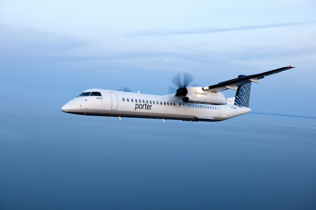 Porter Airlines grows Atlantic market with new service to Saint John (CNW Group/Porter Airlines Inc.)