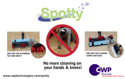 The Easy way to clean carpet spots and tile & grout! - SPOTTY!