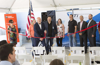 Ribbon Cutting for Commercial Freezer Facility Near SEA-TAC Airport