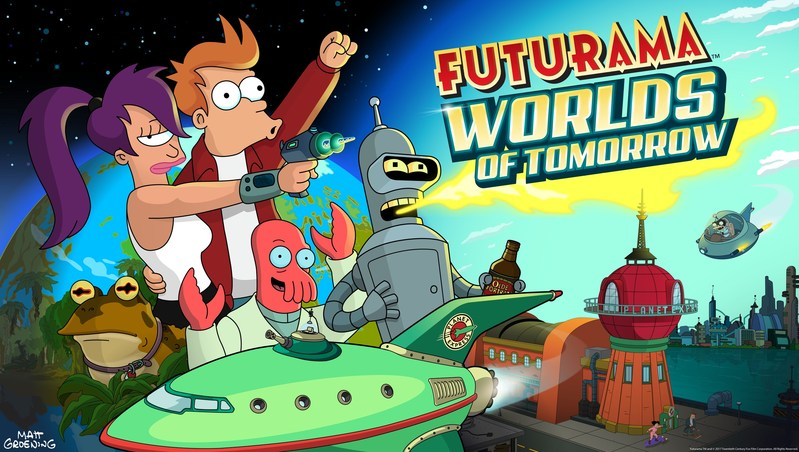 Futurama:  Worlds of Tomorrow