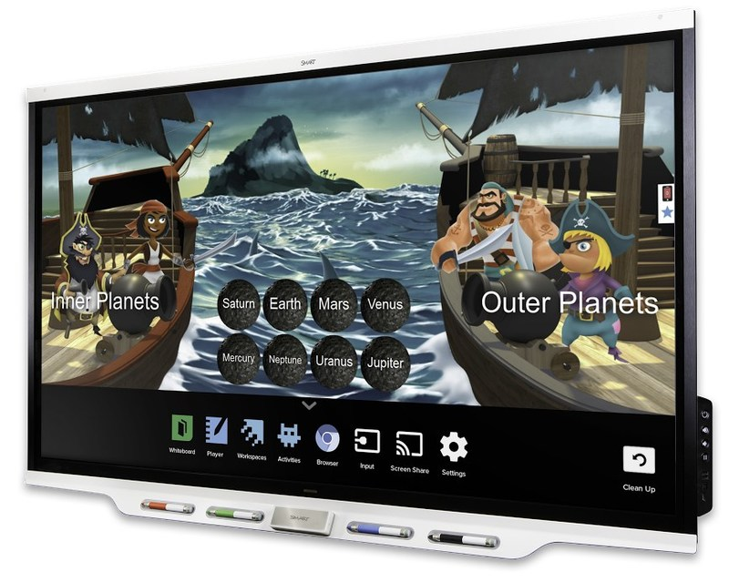 SMART Board 7000 series interactive display with iQ