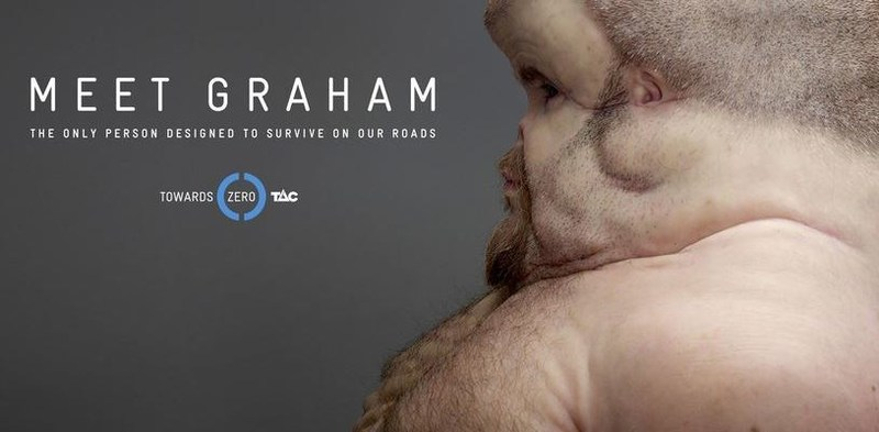 """""""Meet Graham"""" from the Transport Accident Commission Victoria. Created by Clemenger BBDO Melbourne"""