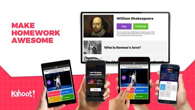 Kahoot! previews new mobile app at ISTE 2017; app redefines homework for learners