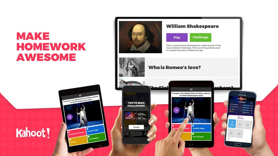 Kahoot! previews new mobile app at ISTE 2017. App redefines homework for learners.