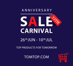 TOMTOP Will Express Gratitude to Customers during the 13th Anniversary