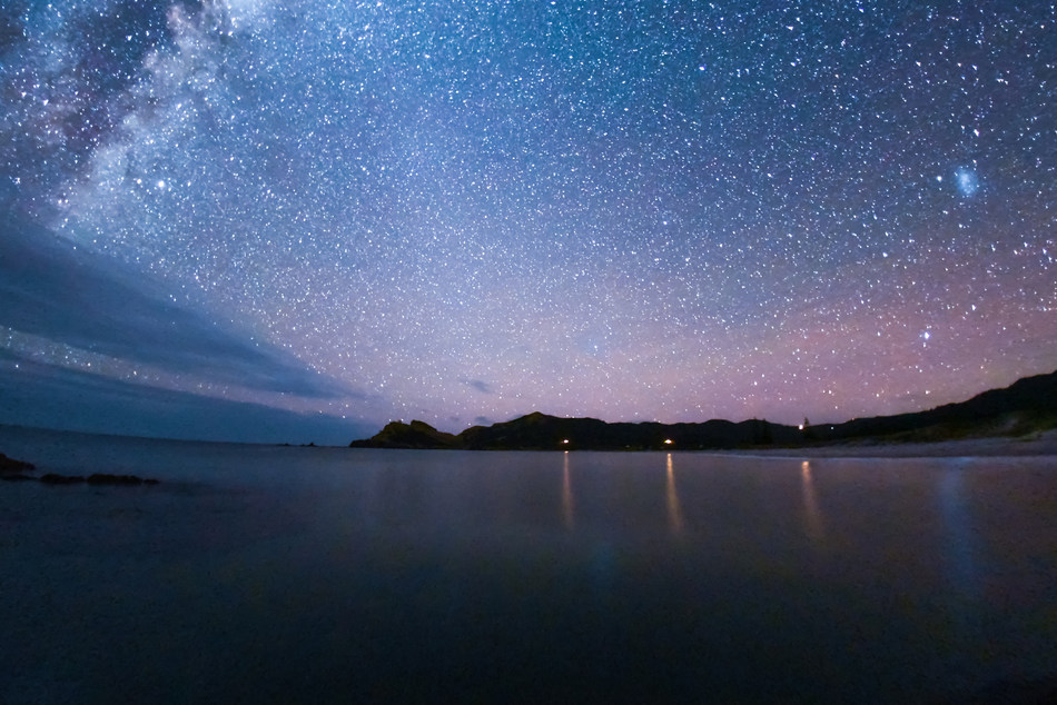 Great Barrier Island's stunning starry vistas have been designated an international Dark Sky Sanctuary. Pic Credit: Mark Russell