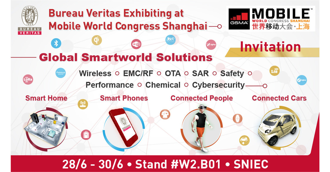 bureau veritas offers vr laboratory experience at mwc shanghai. Black Bedroom Furniture Sets. Home Design Ideas
