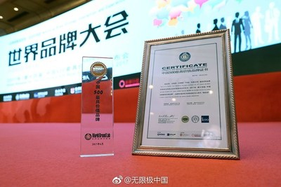 Infinitus' Brand Value Increased to RMB 65.869 Billion - The Leading Brand of Chinese Herbal Health Products