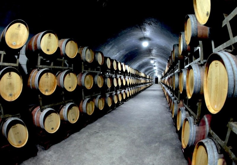 Yantai Changyu International Wine Culture Museum. Changyu, a leading wine maker, is one of Yantai's most famous companies.