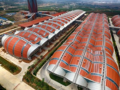 Overview of Changyu Industrial Park (PRNewsfoto/Yantai City)