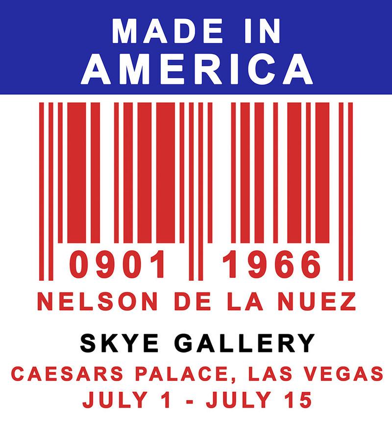 Made in America Caesars Palace Las Vegas SKYE Gallery Nelson De La Nuez Solo Show