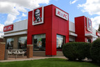 The K'ehFC name change will be celebrated with a new storefront sign at the very first Canadian location in Saskatoon. (CNW Group/KFC Canada)