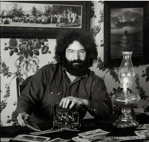 Jerry Garcia Photo Courtesy of Herb Greene