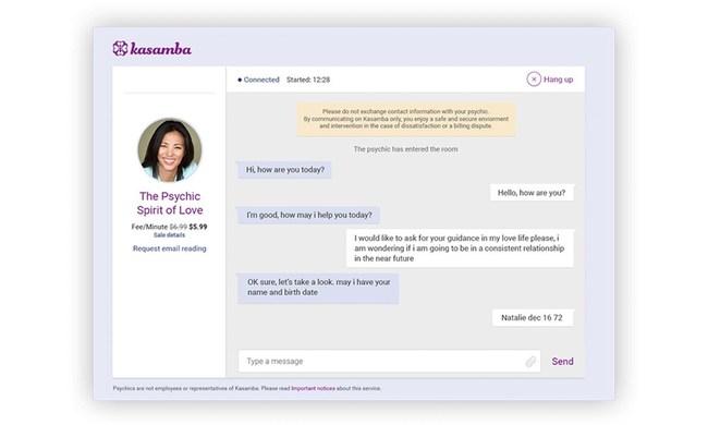 Kasamba New Chat advisor