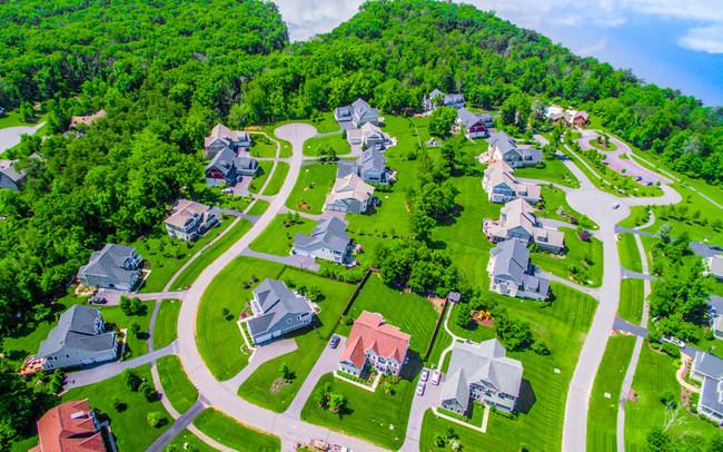 Neighborhood Drone Photo