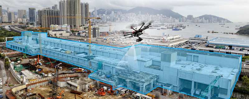 Aerial imagery can be used to record how heavy equipment, temporary structures and assets are stored and maintained on-site for insurance regulation requirements. Daily flights can also audit site conditions to identify any potential hazards. Improve traceability, reduce project delays, minimize rental losses due to misplaced parts and equipment, improve logistic planning and helps to locate assets on a site map using real-time data.