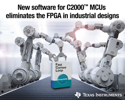New TI MCU software eliminates an FPGA in industrial systems
