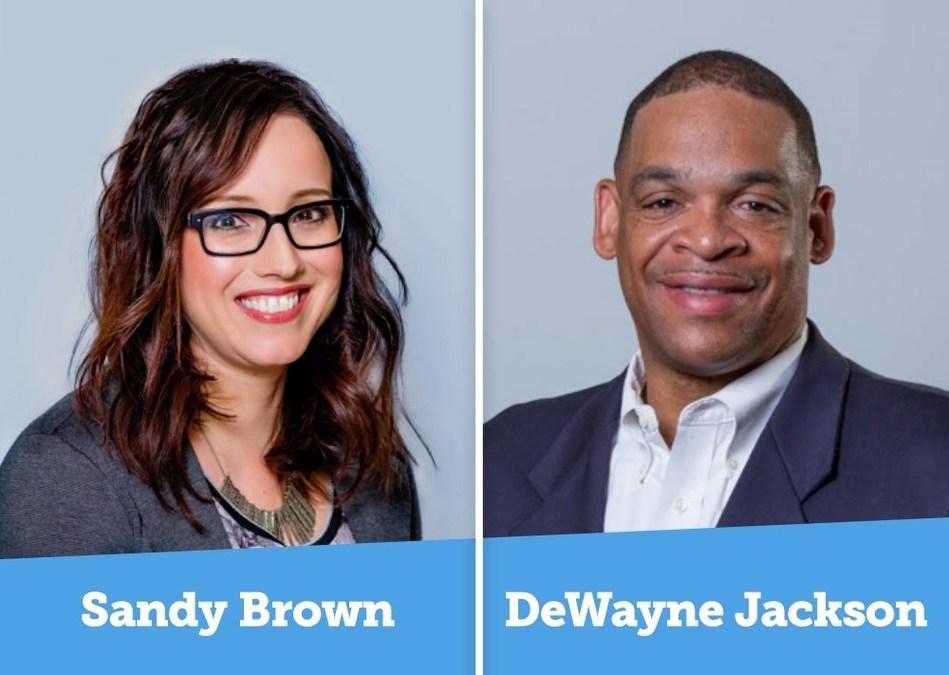 Sandy Brown and DeWayne Jackson join CadmiumCD
