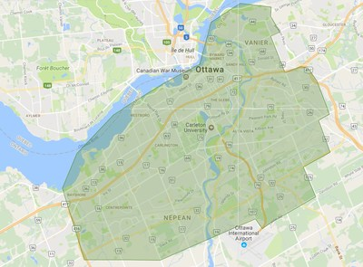 Ottawa delivery area (CNW Group/The Beer Store)