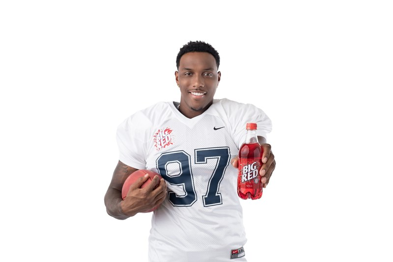 Big Red Soda Announces A Perfect Match Made In Texas – A Partnership With Dallas Pro Football Rookie Taco Charlton