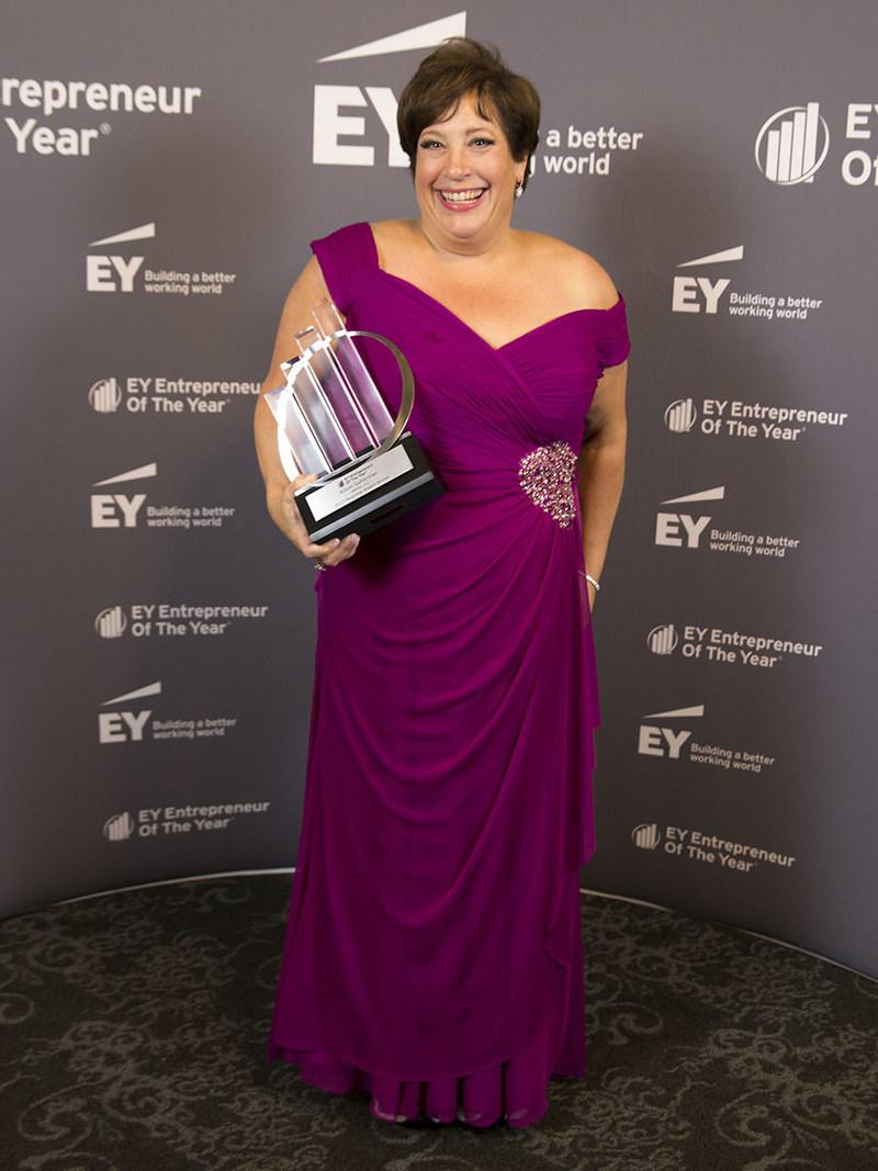 Alison Gutterman, Jelmar CEO and President, Entrepreneur Of The Year® 2017 Award winner