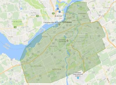 Zone de livraison d'Ottawa (Groupe CNW/The Beer Store)