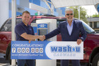 Seven Millionth FastPass® Tag Issued to Chicagoland's Wash U Carwash Guest