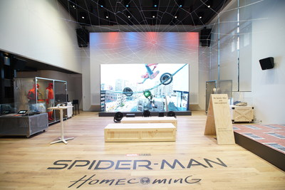 Sony Square NYC's latest exhibit features all things Spider-Man.