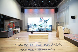 Swing into the World of Spider-Man™ with New Exhibit at Sony Square NYC