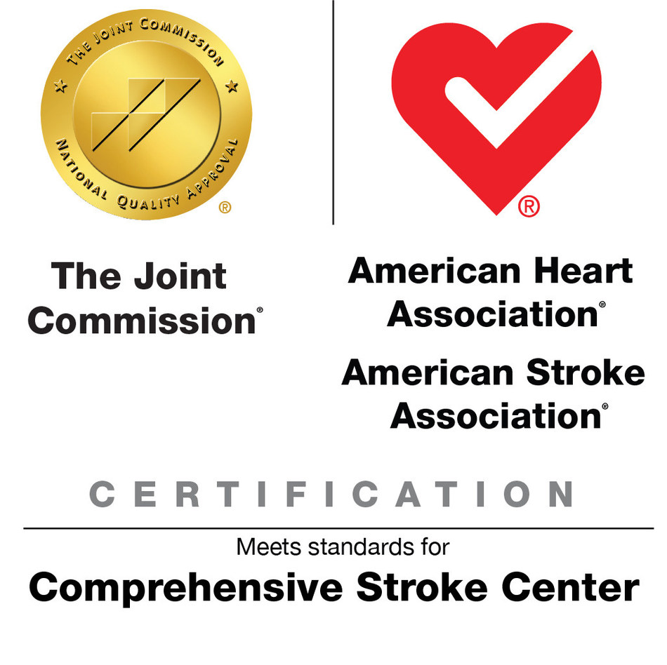 Spectrum Health Butterworth Hospital has earned The Joint Commission's Gold Seal of Approval® and the American Heart Association/American Stroke Association's Heart-Check mark for Advanced Certification for Comprehensive Stroke Centers.