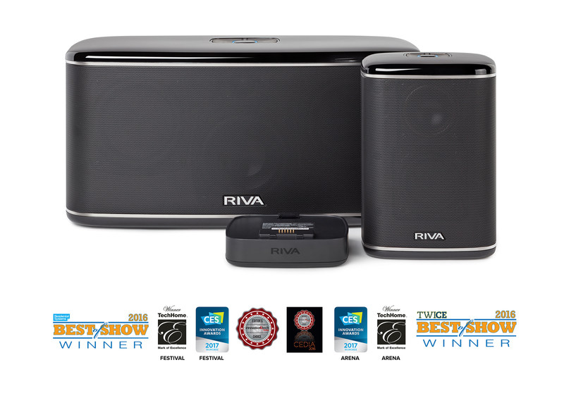 "RIVA Audio's Multi-room""+"" WAND Series Offers a Superior LIVE Audio Experience, Flexibility and Freedom to Play Audio in Any Space Wirelessly from Any Networked or Online Source and Easy Setup and Control."