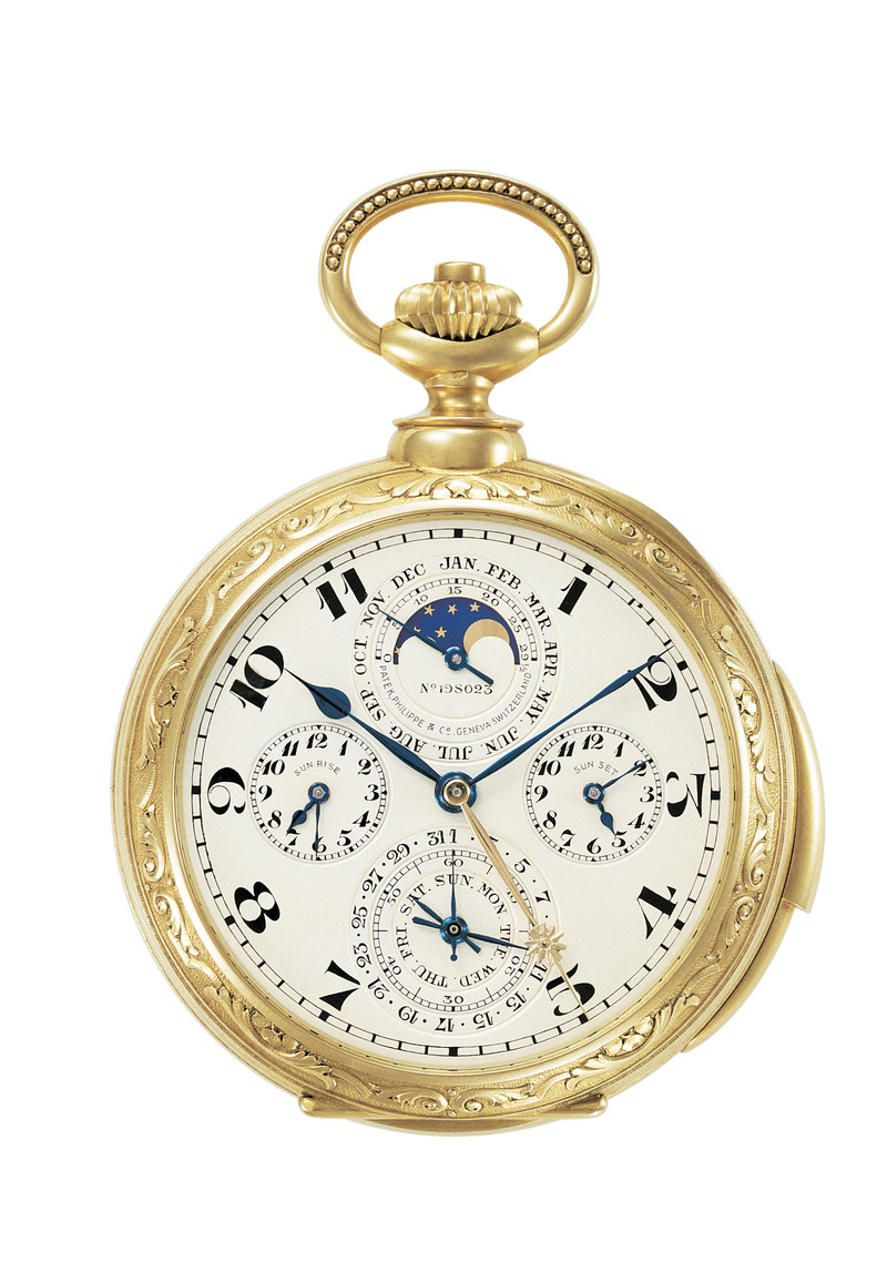 James Ward Packard's Patek Philippe Astronomical Pocket Watch