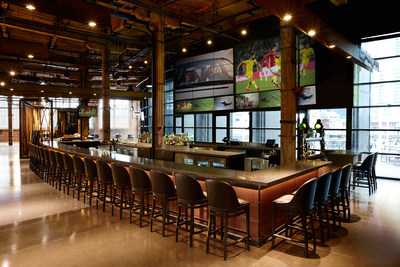 """In addition to spirits and cocktails, multiple bars throughout The Rec Room serve six draught wines and over 24 draught beers."" (CNW Group/Cineplex)"