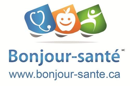 Logo Bonjour-santé®, une intraprise de Tootelo Innovation inc. (Groupe CNW/Tootelo Innovation Inc.)