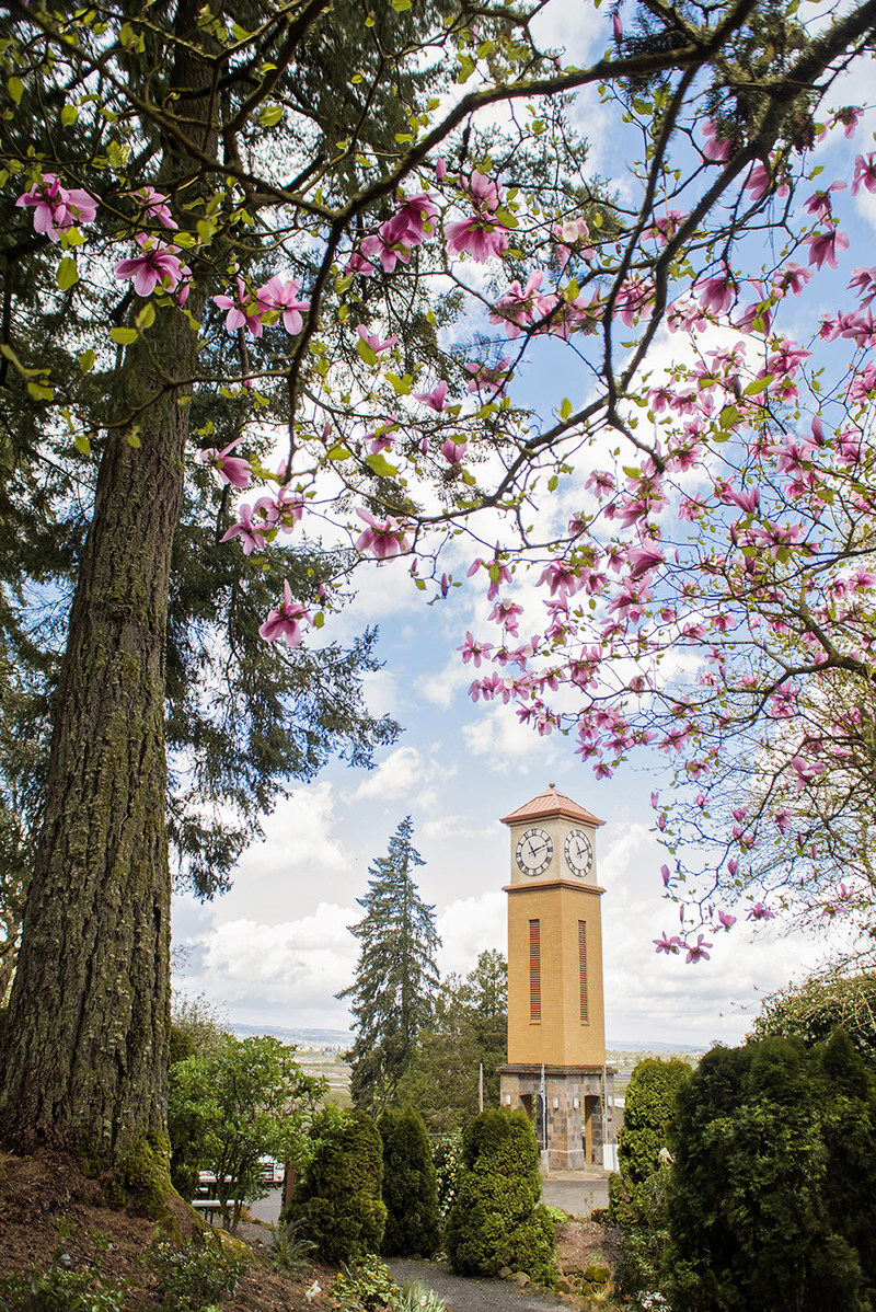 Corban University is situated in the heart of the Willamette Valley, just outside Oregon's capital.