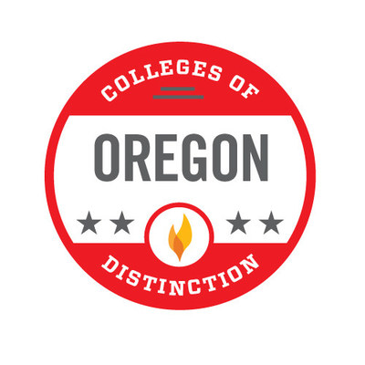 Corban University has been recognized as an Oregon College of Distinction.