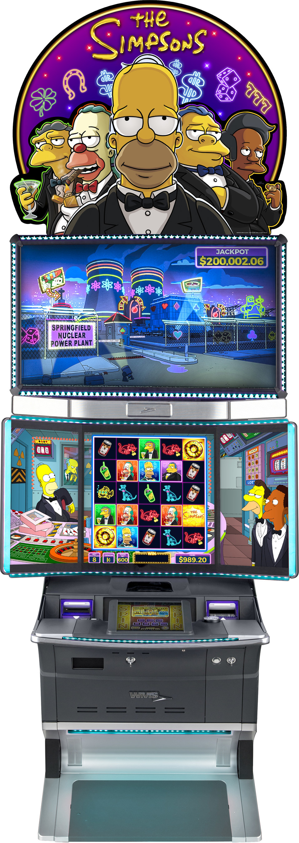 The Simpsons Slot Machine Online