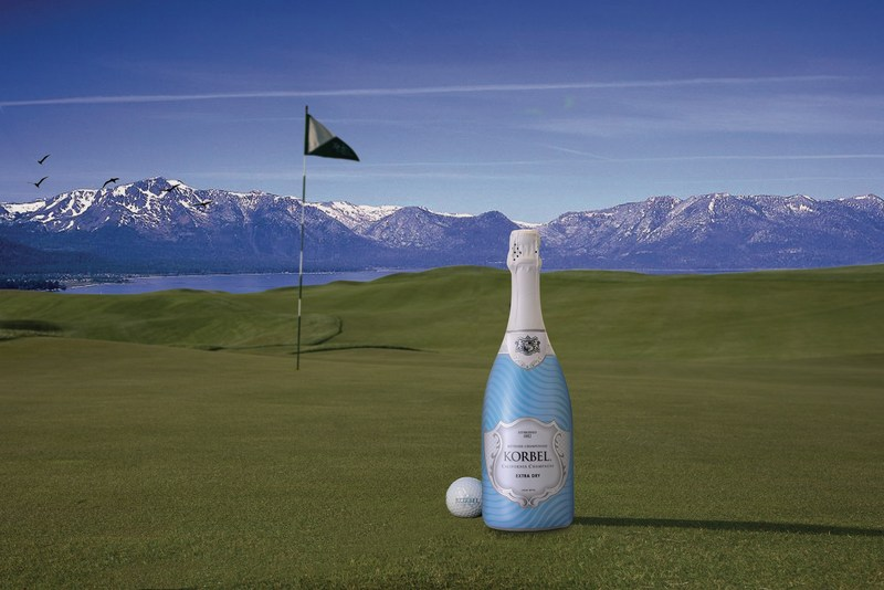 Korbel California Champagne® will once again sponsor and hold  signature events at this year's American Century Celebrity Golf Championship, July 11-16 in Lake Tahoe. Thousands of fans will join in with sports and entertainment icons to toast the competition both on and off the course with Korbel's highly-anticipated, ever-popular Celebrity Spray-Off and the sixth annual Closest-to-the-Pin contest, with $250,000 riding on the winning title.