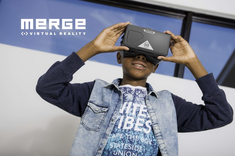 Merge now offering its award-winning AR/VR Goggles in classroom sets for schools and educators.